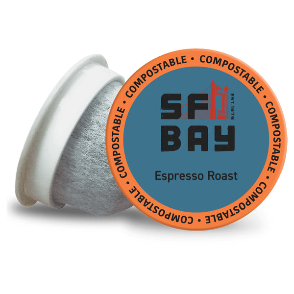San Francisco Bay Espresso Roast Single Serve Coffee 12 Pack