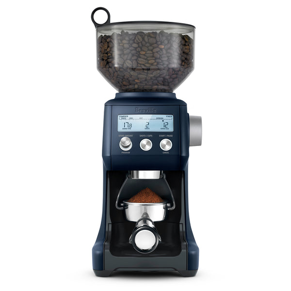 Breville Smart Grinder Pro Conical Burr Grinder, Damson Blue