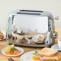 Smeg 2-Slice Toaster - Chrome