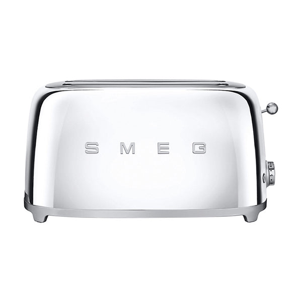 Smeg 4-Slice Toaster - Chrome
