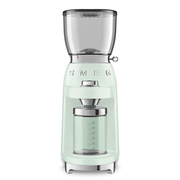 Smeg 50's Style Coffee Grinder CGF01, Pastel Green