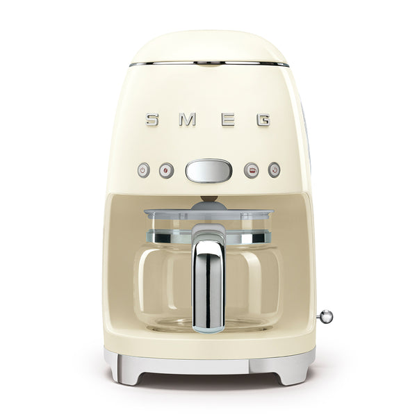 Smeg 50s Style Drip Filter Coffee Machine, Cream