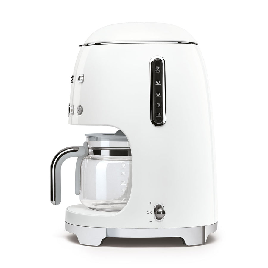 Smeg 50s Style Drip Filter Coffee Machine, White