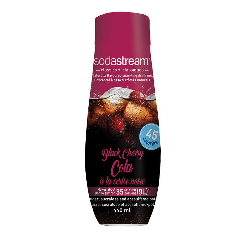 SodaStream Classics Black Cherry Cola 440ml