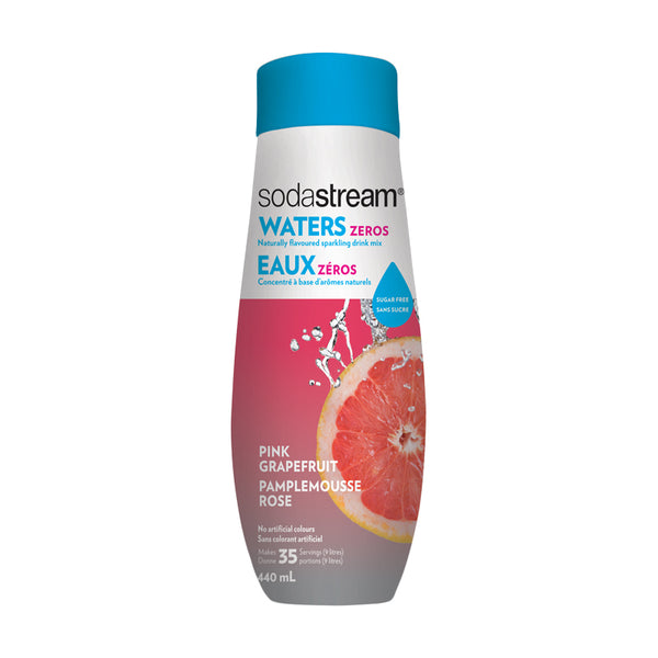 SodaStream Waters Zeros Pink Grapefruit 440ml