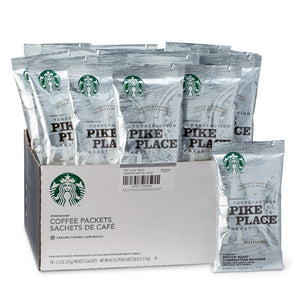 Starbucks Pike Place Fraction Pack Ground Coffee (2.5 oz), 18 Pack