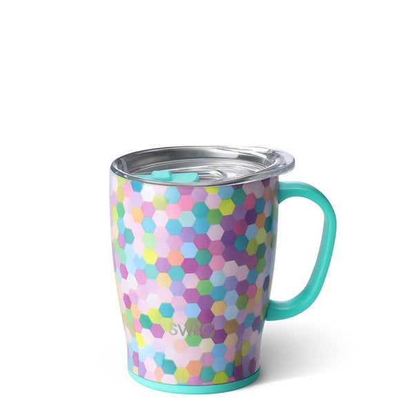 Swig Stainless Steel 18 oz. Mug, Confetti Party