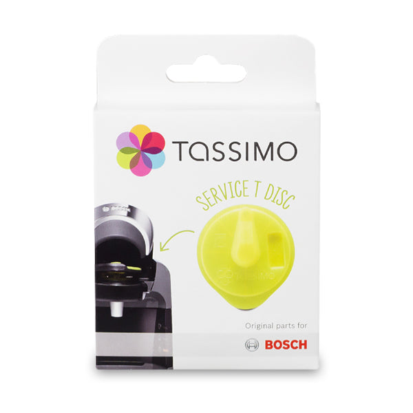 Tassimo Cleaning/Service Disc - Yellow