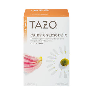 Tazo Calm Chamomile Filterbag Tea 24 Count