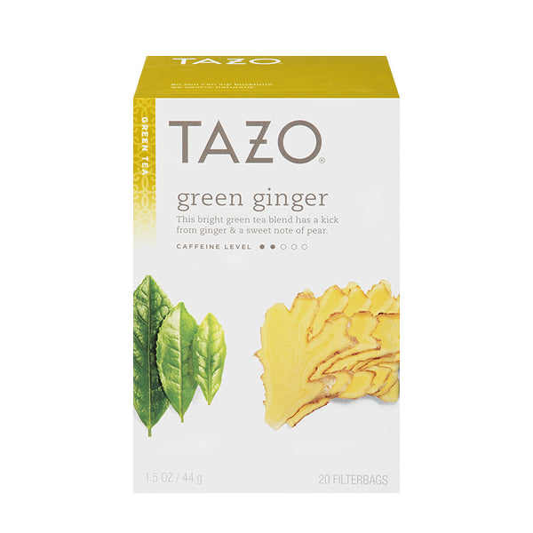 Tazo Green Ginger Filterbag Tea 24 Count