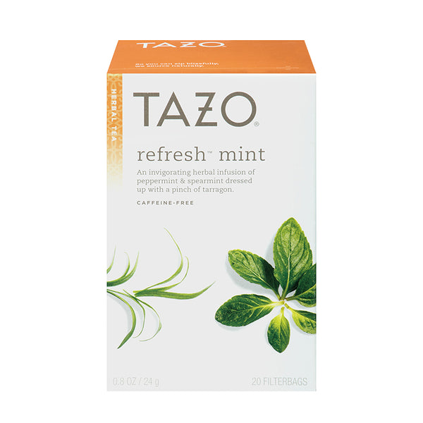 Tazo Refresh Mint Filterbag Tea 24 Count