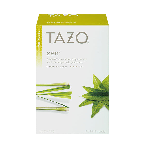 Tazo Zen Filterbag Tea 24 Count
