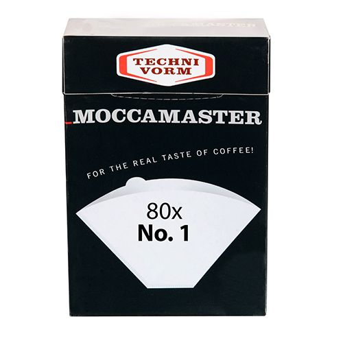 Technivorm Moccamaster No. 1 Filters, 80 Pack