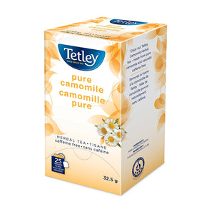 Tetley Pure Camomile Tea 25 Count