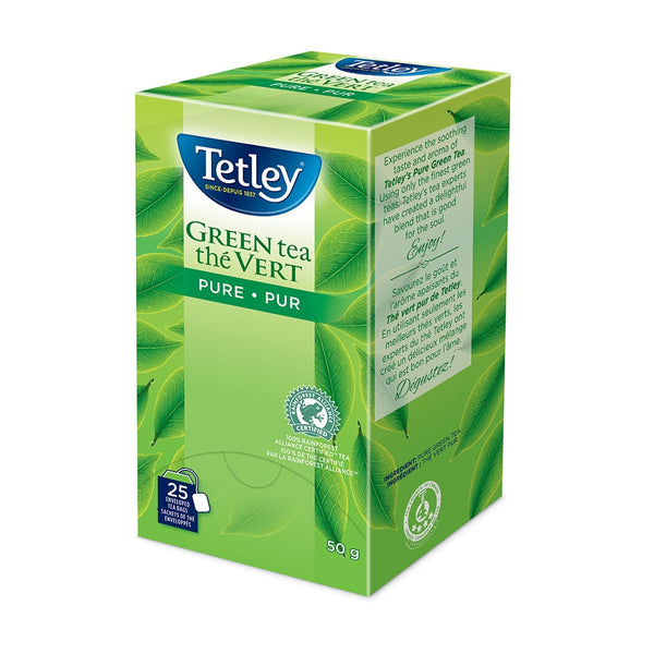 Tetley Pure Green Tea 25 Count