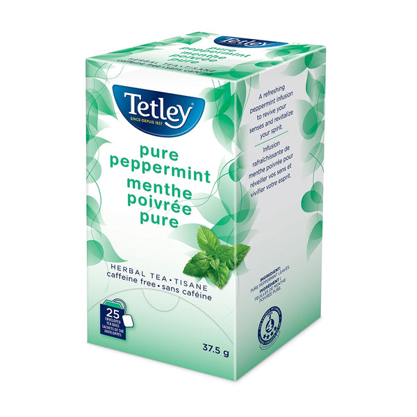 Tetley Pure Peppermint Tea 25 Count