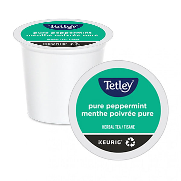 Tetley Pure Peppermint K-Cup Pods 24 Pack