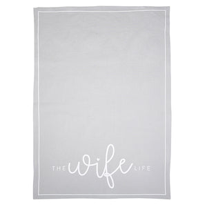 Santa Barbara Tea Towel, The Wife Life