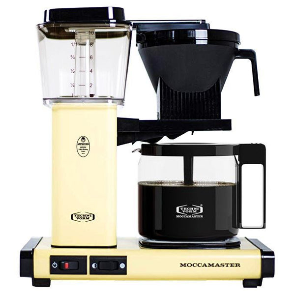 Technivorm Moccamaster KBG 53953 Coffee Maker, Butter Yellow
