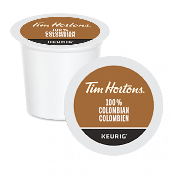 Tim Hortons 100% Colombian K-Cup Pods 24 Pack