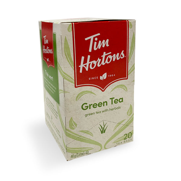 Tim Hortons Green Filterbag Tea, 20 Count