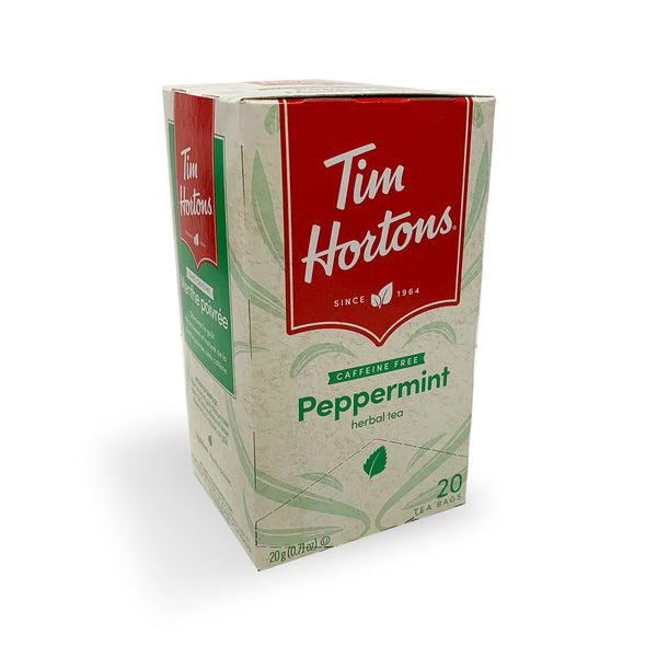 Tim Hortons Peppermint Filterbag Tea, 20 Count