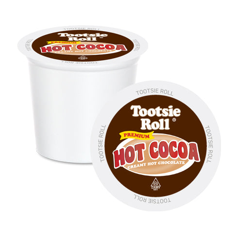 Tootsie Roll Single Serve Hot Cocoa 12 Pack | ECS Coffee Inc