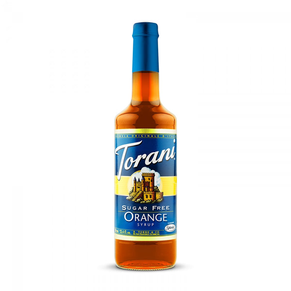 Torani Sugar Free Orange 750ml