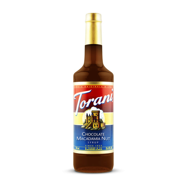 Torani Chocolate Macadamia Nut 750ml