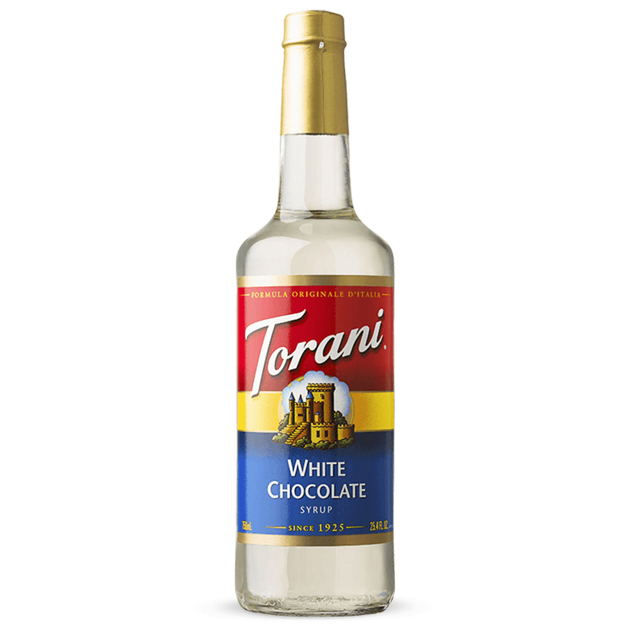 Torani White Chocolate (Chocolate Bianco) 750ml