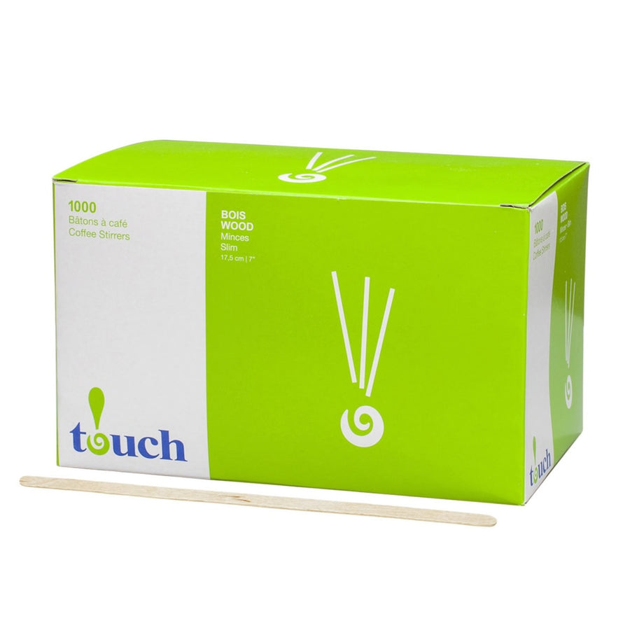Touch Wood Stir Sticks, 1000 Pack