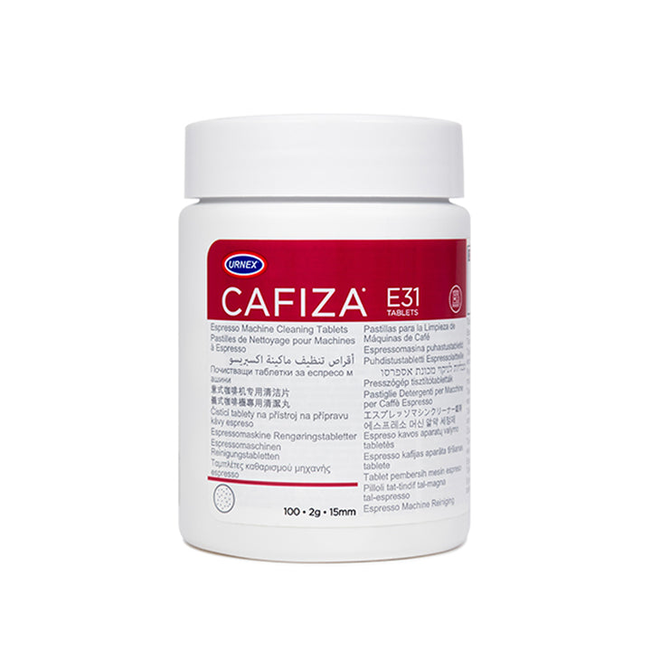 Cafiza Espresso Machine Cleaning Tablets Canister
