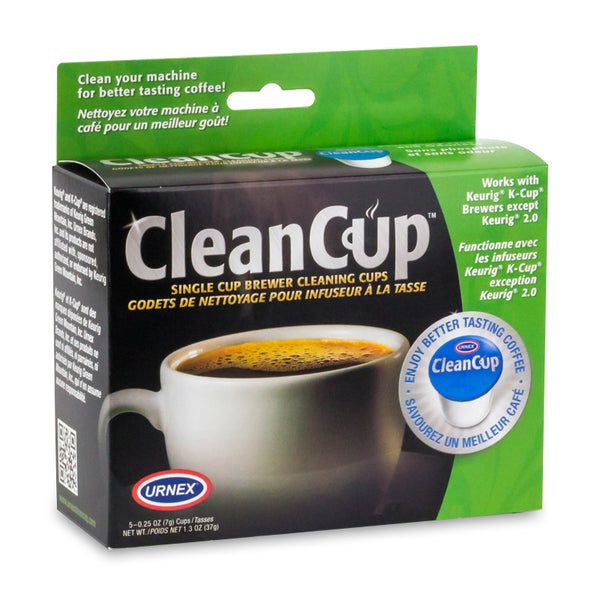 Urnex CleanCup Single Cup Brewer Cleaning Cups, 5 Pack