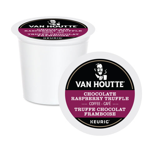 Van Houtte Raspberry Chocolate Truffle K-Cup Pods 24 Pack