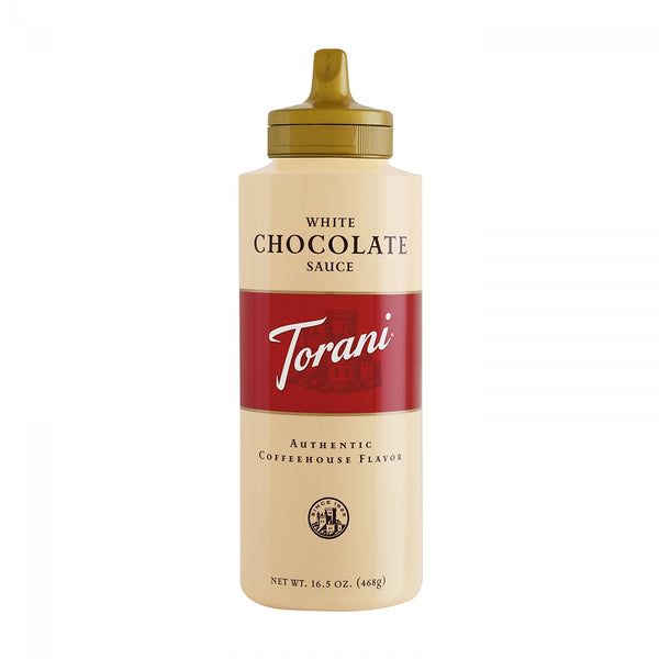 Torani White Chocolate Sauce 16.5 oz.