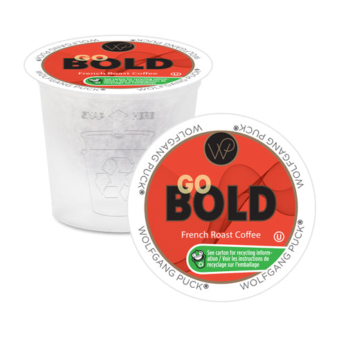 Wolfgang Puck Go Bold Single Serve Coffee 24 Pack