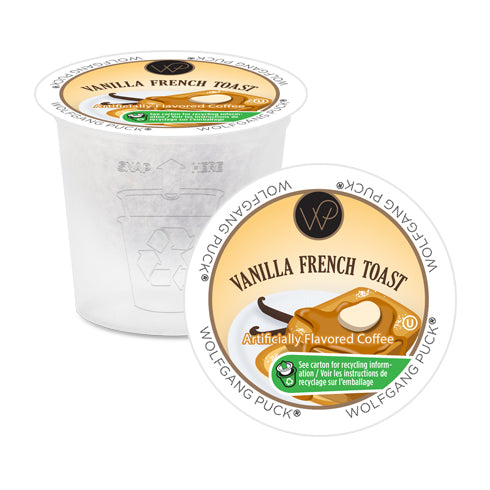 Wolfgang Puck Vanilla French Toast Single Serve Coffee 24 Pack