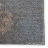"Ionian Abstract Gray/Blue Area Rug (5' 3"" x 7' 6"")"