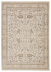 "Valentin Oriental Cream/Light Gray Area Rug (9' 6"" x 12' 6"")"
