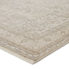 "Valentin Oriental Cream/Light Gray Area Rug (5' 0"" x 7' 6"")"