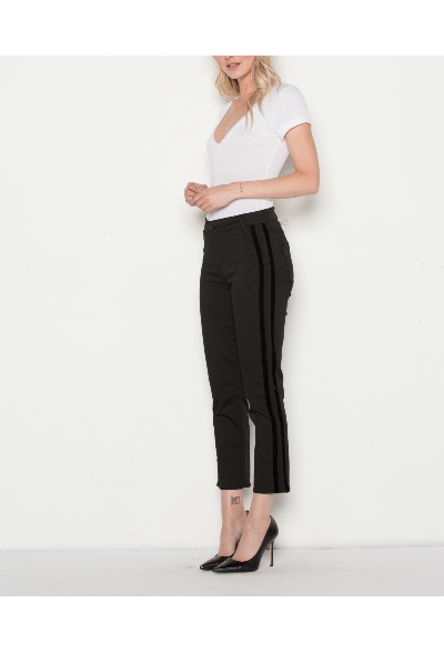 Parker Smith Cropped Tuxedo Jeans