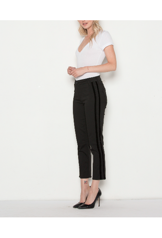 Pinstripe Tapered Pant