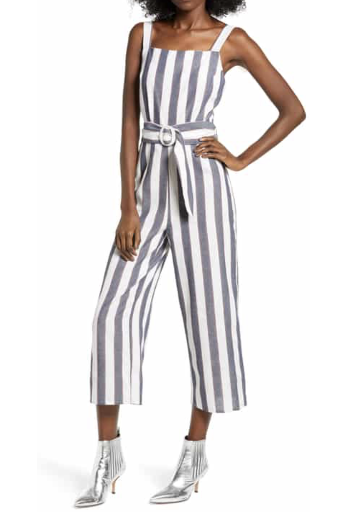 Sequence Stripe Jumpsuit