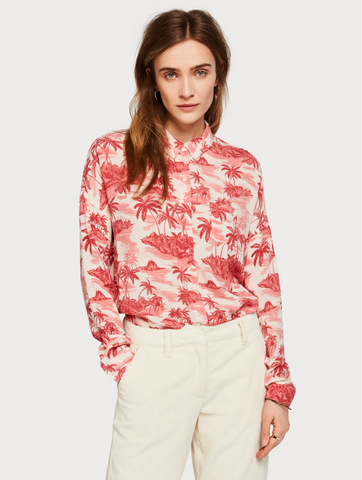 Line and Dot Harlow Button Down