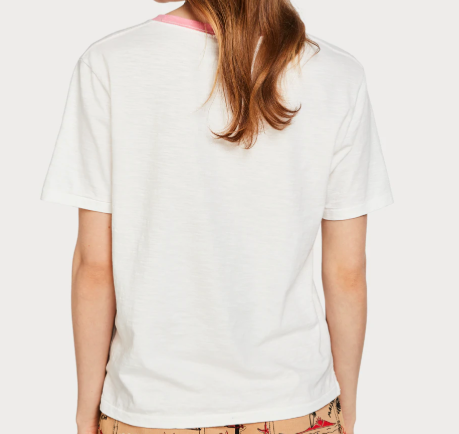 L'ETE Cream Heart tee