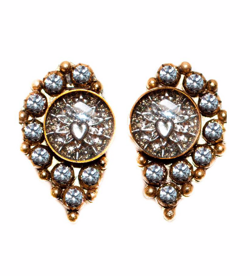 (New) Fairy Moon Post Earrings - GOLD