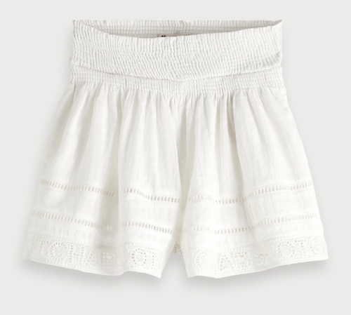 (New) Cream Lace Short