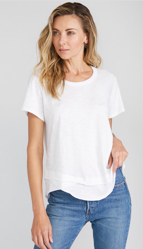 Ava Mock Layer Tee