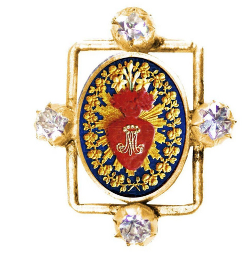 (New) Blessed Ring -bg-The Sacred Heart of Mary