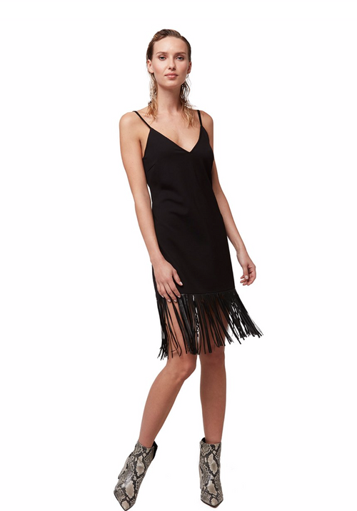 (New) Slim City Fringe Dress
